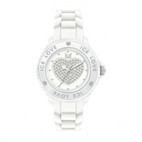 Buy Ice-Watch White Ice-Love Unisex Watch LO.WE.U.S.10 online