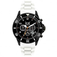 Buy Ice-Watch Black and White Chronograph Collection Unisex Watch CH.BW.B.S.10 online