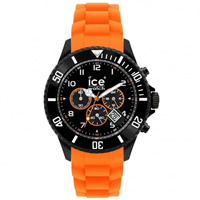 Buy Ice-Watch Black and Orange Chronograph Collection Unisex Watch CH.BO.B.S.10 online
