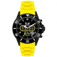 Buy Ice-Watch Black and Yellow Chronograph Collection Unisex Watch CH.BY.B.S.10 online