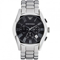 Buy Armani Watches AR0673 Classic Stainless Steel Mens Chronograph Watch online