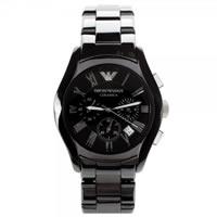 Buy Armani Watches Ceramic Black Mens Chronograph Watch AR1400 online