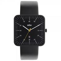 Buy Braun Watches Black Leather Mens Watch BN0042BKBKG online