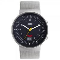 Buy Braun Watches Grey Mesh Mens Watch BN0087GYSLMHG online