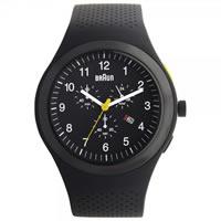 Buy Braun Watches Mens Black Chronograph Watch BN0115BKBKBKG online