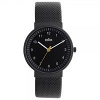 Buy Braun Watches Mens Black Stainless Steel Watch BN0031BKBKMHL online