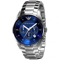 Buy Armani Watches AR5860 Gents Silver Stainless Steel Watch online