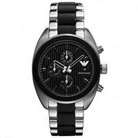 Buy Armani Watches AR5952 Gents Silver Stainless Steel Watch online