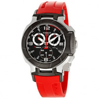 Buy Tissot Watches T048.417.27.057.01 Red Chronograph Mens Watch online