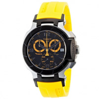 Buy Tissot Watches T048.417.27.057.03 Yellow Chronograph Mens Watch online