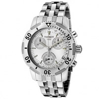 Buy Tissot Watches T17.1.486.33 Silver Chronograph Mens Watch online