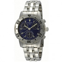 Buy Tissot Watches T17.1.486.44 Silver Chronograph Mens Watch online