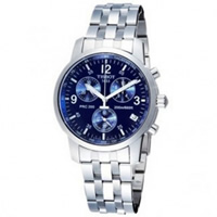 Buy Tissot Watches T17.1.586.42 Silver Chronograph Mens Watch online