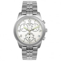 Buy Tissot Watches T34.1.488.32 Silver Gents Chronograph Watch online