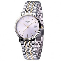 Buy Tissot Watches T52.2.481.31 Silver and Gold Gents Watch online