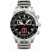 Buy Tissot Watches T91.1.486.51 Silver Mens Chronograph Watch online