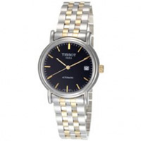 Buy Tissot Watches T95.2.483.51 Silver and Gold Gents Automatic Watch online