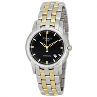 Buy Tissot Watches T97.2.483.51 Silver and Gold Gents Automatic Watch online