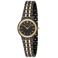 Buy Accurist Watches Black Stainless Ladies Watch LB1742B online