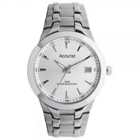 Buy Accurist Watches Silver Gents Watch MB860S online