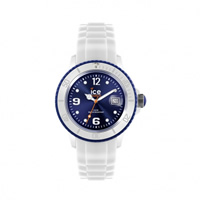 Buy Ice-Watch White-Dark Blue Ice White Small Watch SI.WB.S.S.11 online