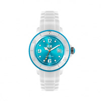 Buy Ice-Watch White-turquoise Ice White Small Watch SI.WT.S.S.11 online