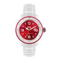 Buy Ice-Watch White-red Ice White Unisex Watch SI.WD.U.S.11 online