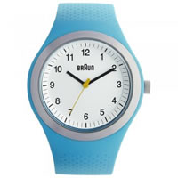 Buy Braun Watches Mens Blue Silicon Watch BN0111WHBLG online
