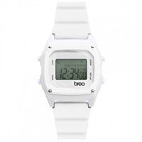 Buy Breo Watches B-TI-BIN8 Binary White Digital Watch online