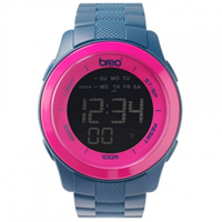 Buy Breo Watches Dark Teal Digital Orb Ten Watch  B-TI-ORX153 online
