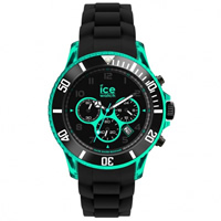 Buy Ice-Watch Chrono Electrik Black and Turquoise Watch CH.KTE.BB.S.12 online
