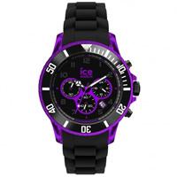 Buy Ice-Watch Chrono Electrik Black and Purple Watch CH.KPE.BB.S.12 online