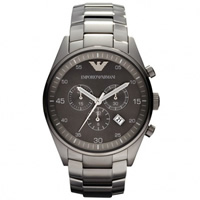 Buy Armani Watches AR5964 Mens Grey Chronograph Watch online