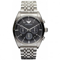 Buy Armani Watches AR0373 Mens Silver Classic Watch online