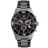 Buy Armani Watches AR1421 Mens Black Ceramica Watch online
