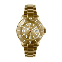 Buy Ice-Watch Ice Alu Gold Aluminium Watch AL.GD.U.A.12 online