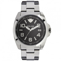 Buy Police Watches PL12157JVS-02MC Sovereign Mens Silver Watch online