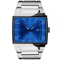 Buy Police Watches PL12697JVS-03M Evade Mens Silver Watch online