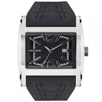 Buy Police Watches PL12170JS-02A Dynamo Mens Black Leather Watch online