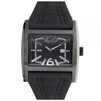 Buy Police Watches PL12170JSB-02A Dynamo Mens Black Leather Watch online