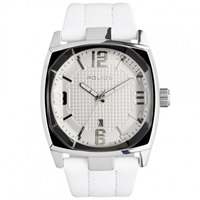 Buy Police Watches PL12963JS-01 Edge Mens White Leather Watch online