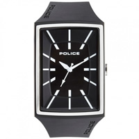 Buy Police Watches PL13077MPBS-02 Vantage X Mens Black Silicone Watch online
