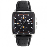Buy Police Watches PL12921JS-02 Patrol Mens Black Chronograph Watch online