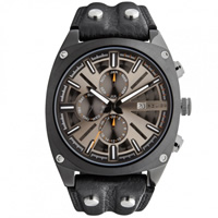 Buy Police Watches PL12699JSB-02 Enforce Mens Black Chronograph Watch online