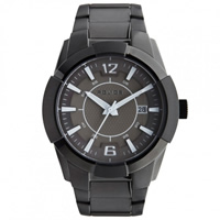 Buy Police Watches PL1254JSB-61MA Sincere Mens Black Stainless Steel Watch online
