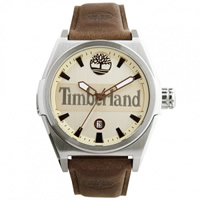 Buy Timberland Watches 13329JS-07A Back Bay mens brown leather watch online