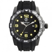 Buy Timberland Watches 13317JSB-02 Belknap Mens Black Rubber Watch online