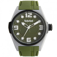 Buy Timberland Watches 13328JPGYB-19 Radler Mens Green Silicone strap Watch online