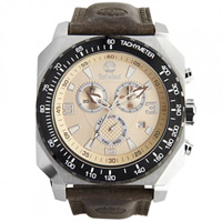 Buy Timberland Watches 13324JSTB-07 Stratham Mens Brown Genuine Leather strap Watch online