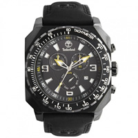 Buy Timberland Watches 13324JSB-02 Stratham Mens Black Genuine Leather strap Watch online